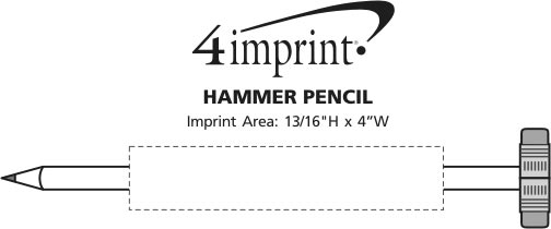 Imprint Area of Hammer Pencil