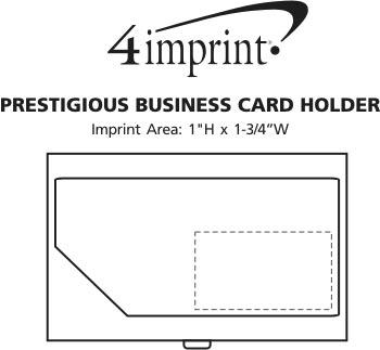 Imprint Area of Prestigious Business Card Holder