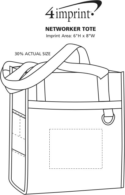 Imprint Area of Networker Tote