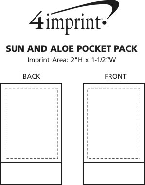 Imprint Area of Sun and Aloe Pocket Pack