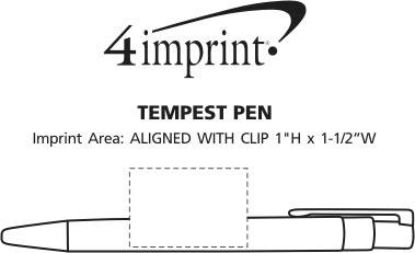 Imprint Area of Tempest Pen