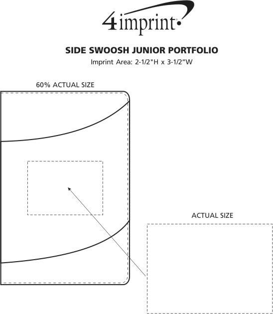 Imprint Area of Side Swoosh Junior Portfolio