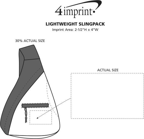 Imprint Area of Lightweight Slingpack