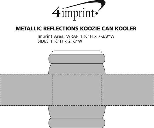 Imprint Area of Reflections Koozie® Can Kooler