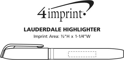 Imprint Area of Lauderdale Highlighter