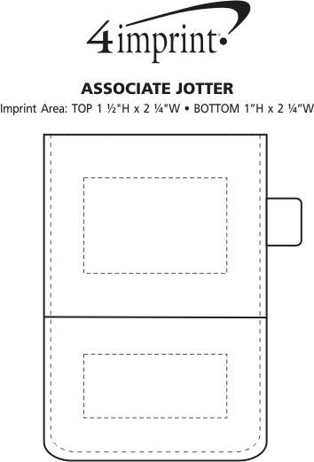Imprint Area of Associate Jotter