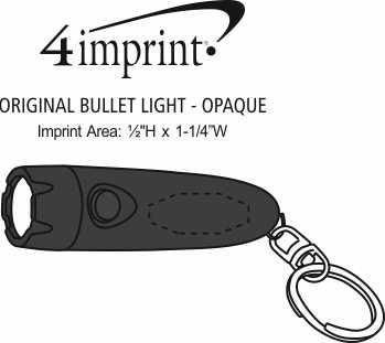 Imprint Area of Original Bullet Light - Opaque