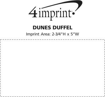 Imprint Area of Dunes Duffel