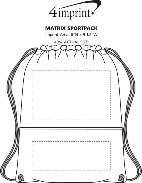 Imprint Area of Matrix Sportpack