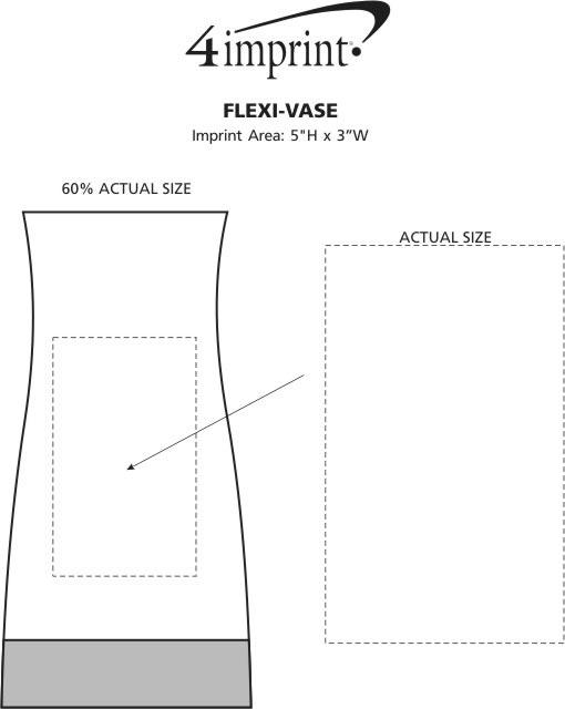 Imprint Area of Flexi-Vase