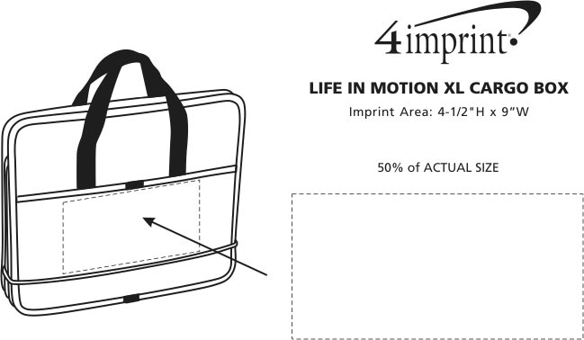 Imprint Area of Life in Motion XL Cargo Box