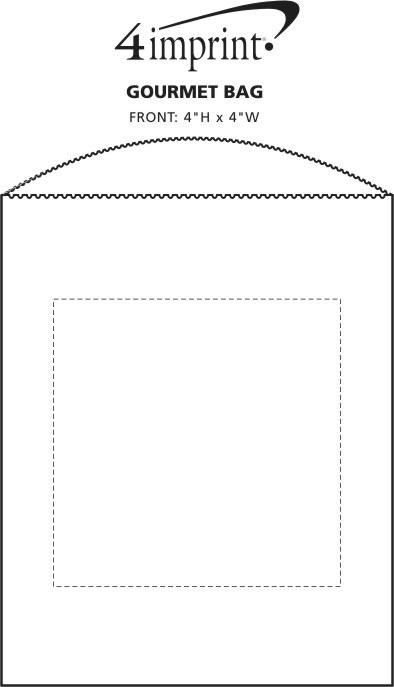 Imprint Area of Gourmet Bag