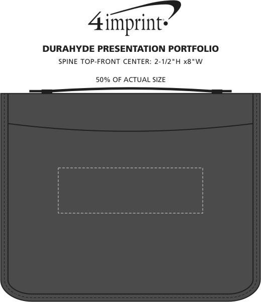 Imprint Area of DuraHyde Presentation Portfolio