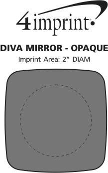 Imprint Area of Diva Mirror - Opaque