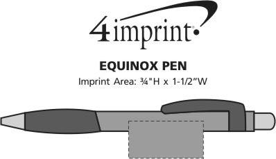 Imprint Area of Equinox Pen