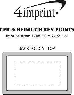 Imprint Area of CPR & Heimlich Key Points