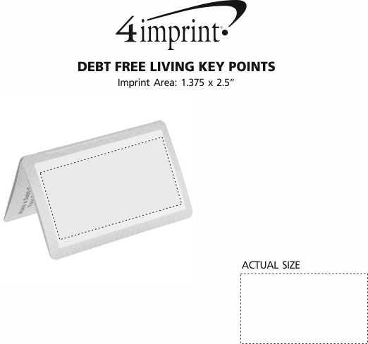 Imprint Area of Debt Free Living Key Points