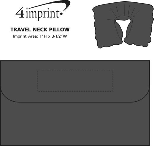 Imprint Area of Travel Neck Pillow