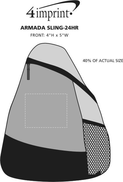 Imprint Area of Armada Sling - 24 hr