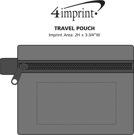 Imprint Area of Travel Pouch