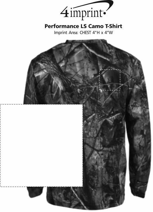 Imprint Area of Performance LS Camo T-Shirt