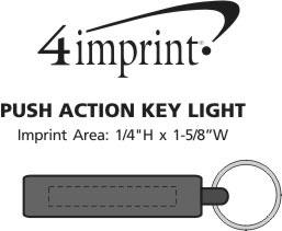 Imprint Area of Push Action Key Light