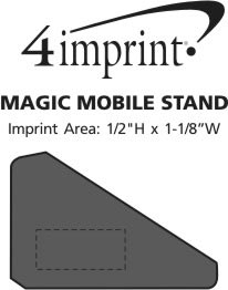 Imprint Area of Magic Mobile Stand