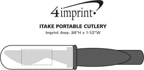 Imprint Area of iTake Portable Cutlery