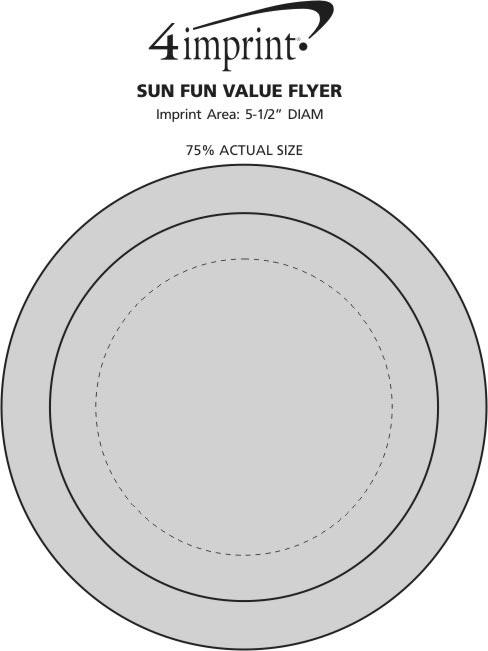 Imprint Area of Sun Fun Flyer