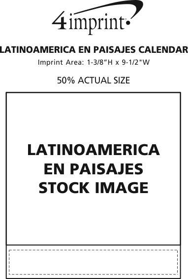 Imprint Area of Latinoamerica en Paisajes Calendar