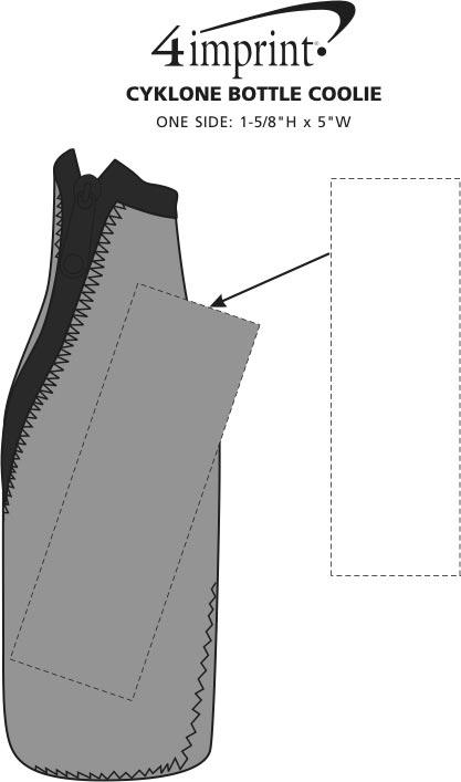 Imprint Area of Cyklone Bottle Coolie