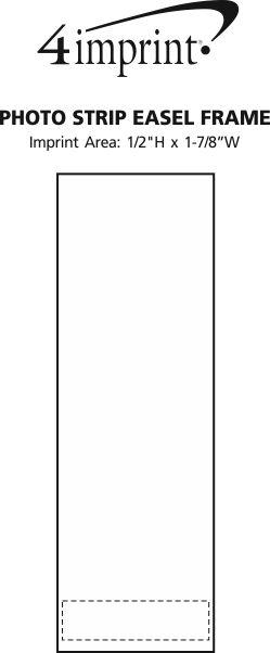 Imprint Area of Photo Strip Easel Frame