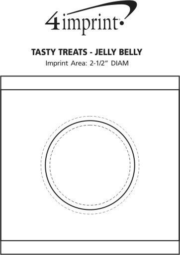 Imprint Area of Tasty Treats - Jelly Belly