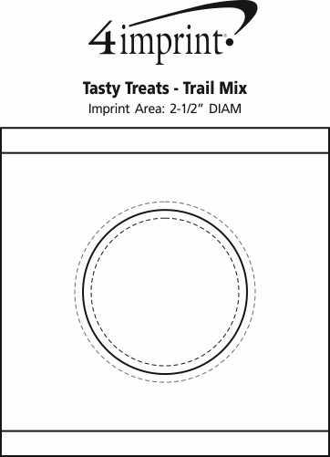 Imprint Area of Tasty Treats - Trail Mix