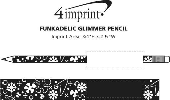 Imprint Area of Funkadelic Glimmer Pencil