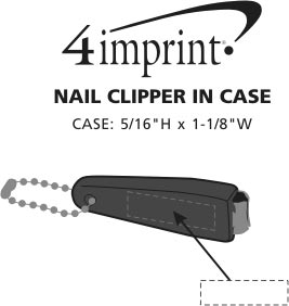 Imprint Area of Nail Clipper in Case