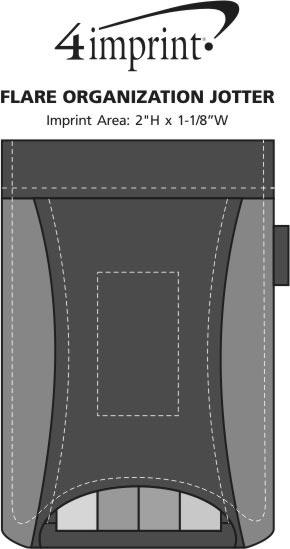 Imprint Area of Flare Organization Jotter