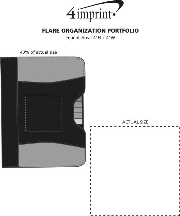 Imprint Area of Flare Organization Portfolio