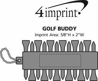 Imprint Area of Golf Buddy