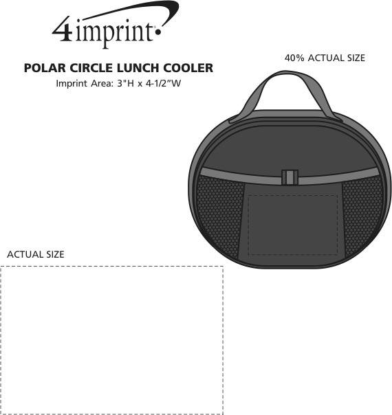 Imprint Area of Polar Circle Lunch Cooler