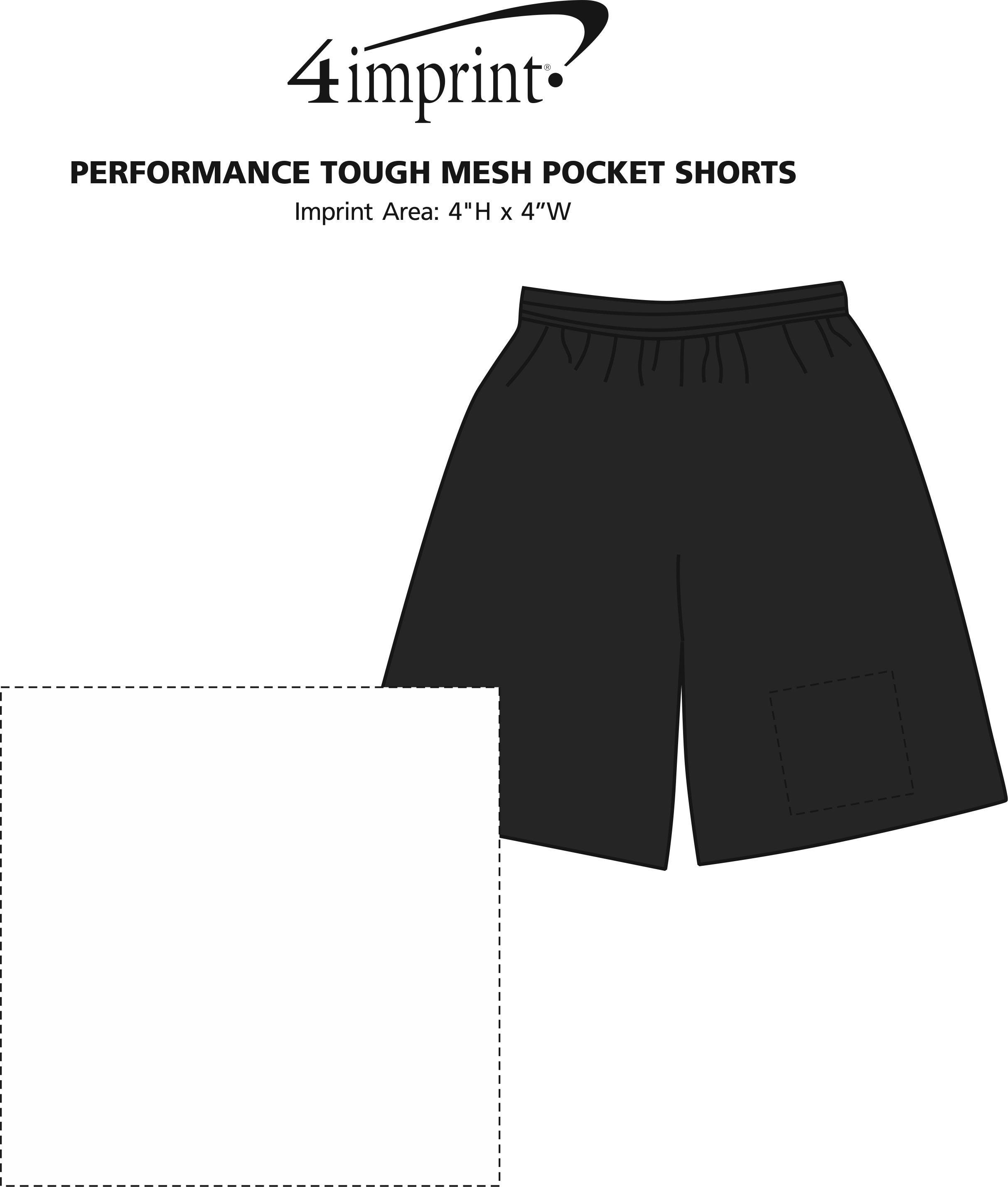 Imprint Area of Performance Tough Mesh Pocket Shorts