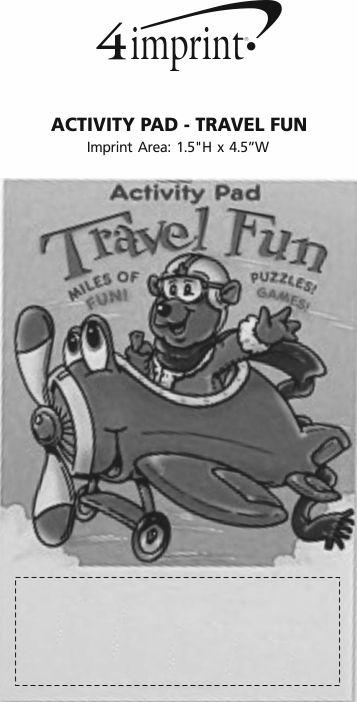 Imprint Area of Activity Pad - Travel Fun