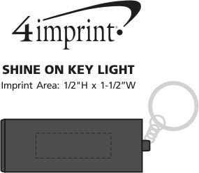 Imprint Area of Shine On Key Light