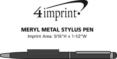 Imprint Area of Meryl Stylus Metal Pen