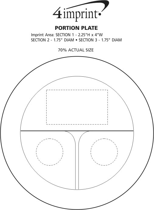 Imprint Area of Portion Plate