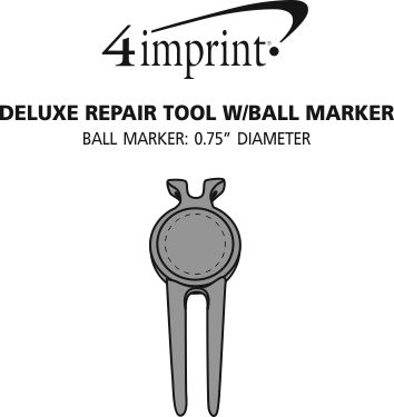 Imprint Area of Deluxe Repair Tool with Ball Marker
