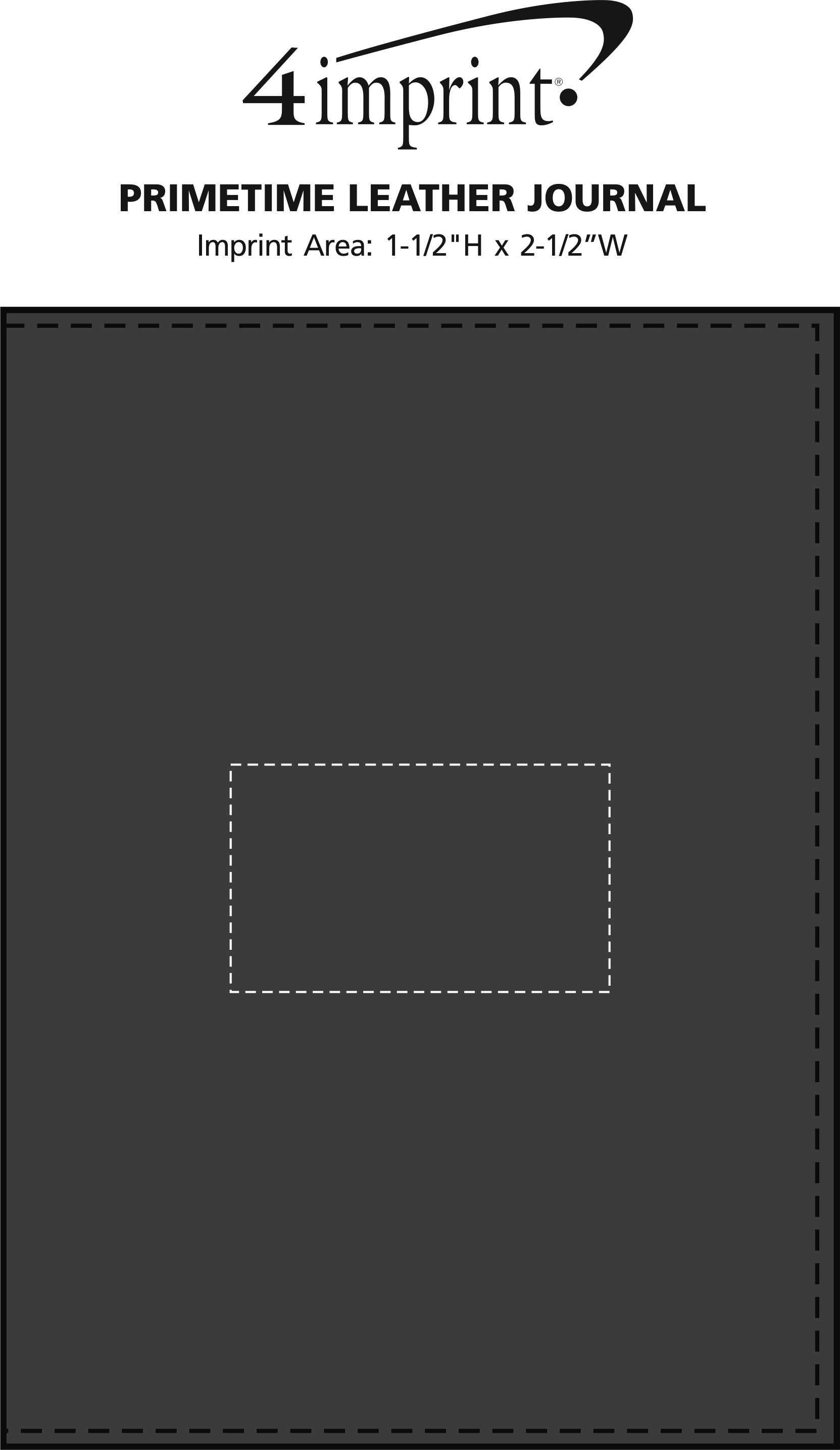 Imprint Area of Primetime Leather Journal