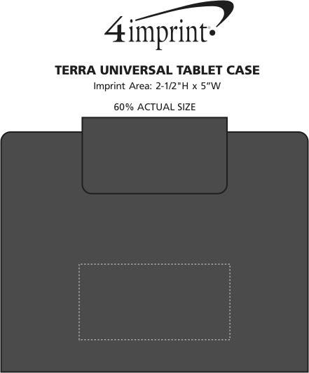 Imprint Area of Terra Universal Tablet Case