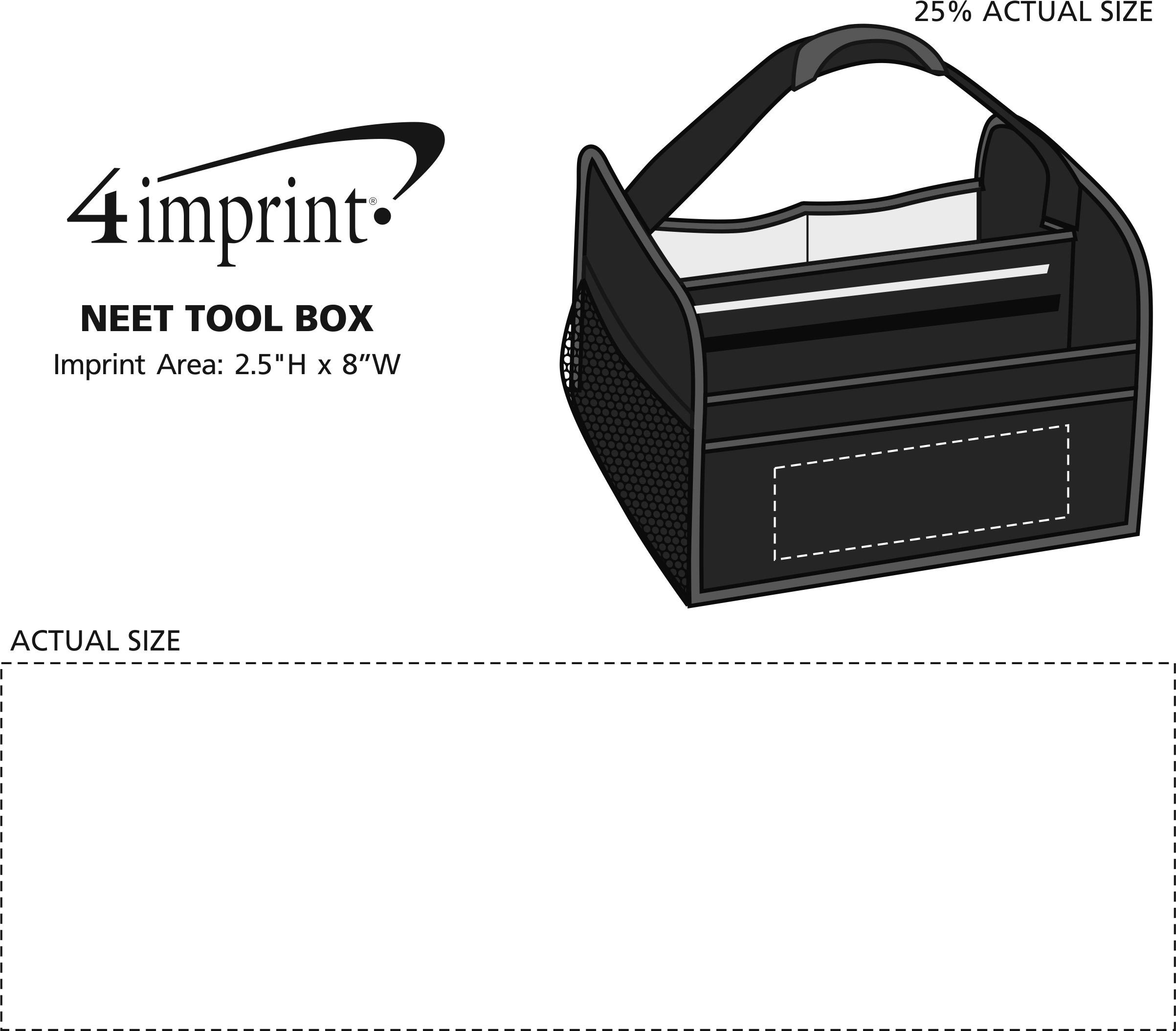 Imprint Area of Neet Tool Box