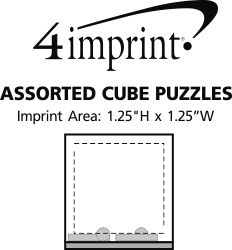Imprint Area of Assorted Cube Puzzles